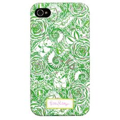 $28.00 Lilly Pulitzer iPhone 4 Case - Kappa Delta