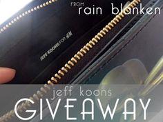 Jeff Koons Balloon Dog Bag Giveaway