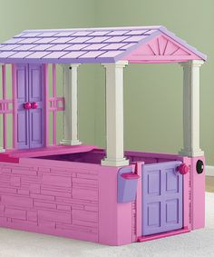 Loving this Pink My First Playhouse on #zulily! #zulilyfinds