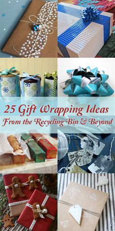 Creative gift wrappi