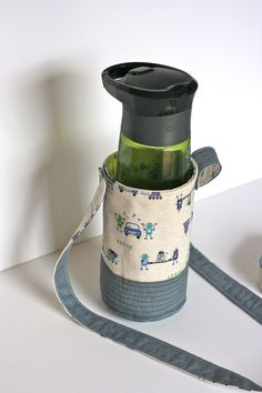 Water Bottle Holder - I think this just moved to the top of my project list.  from one shabby chick