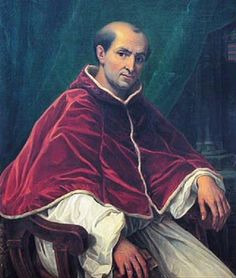 Pope Clement V who disbanded the Knights Templar
