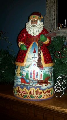 my Jim Shore santa