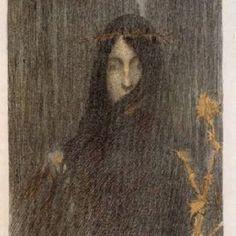 Henri Martin. El silencio. esoterica obscuratorium, henri martin, el silencio