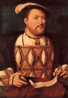 "Henry VIII aged 40. Born 28 June 1491, accession 21 April 1509, died 28 January 1547.   ""If a lion knew his strength, it were hard for any man to hold him."""