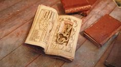 Miniature Book with Secret Compartment by LDelaney on Etsy