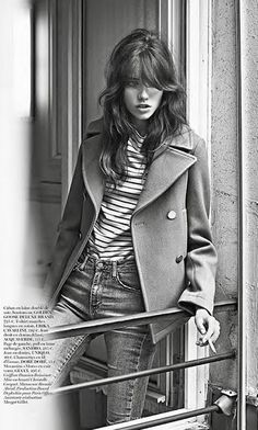 Grace Hartzel by Lachlan Bailey for Vogue Paris September 2014. Styled by Géraldine Saglio