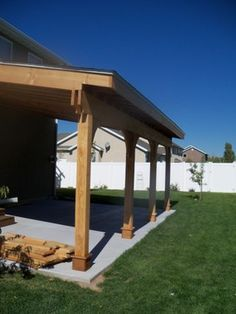 Covered Patio traditional