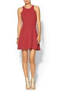 flare dress, oliv amp