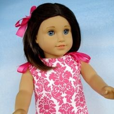 18 Inch Doll Dresses - Four Styles!
