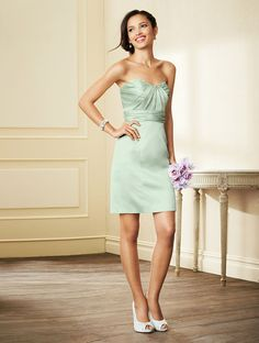 Alfred Angelo Short Bridesmaid Dress 7293S