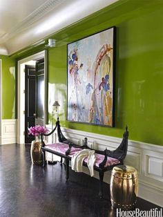 love high gloss lacquer walls