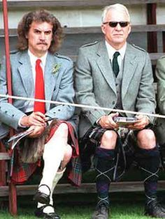 Billy Connolly and Steve Martin
