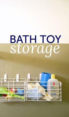Bath toy storage (th
