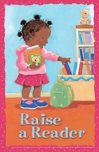 Raise a Reader Mini Poster - Posters - Products for Children - ALA Store