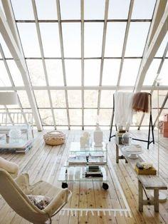 studio, interior design, floor, window, open spaces, dream, hous, loft spaces, light