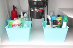 Organize Under the Sink Space - Coordinately Yours, by Julie Blanner
