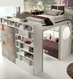 ótima ideia para aproveitar pequenos espaços, além de lindo!