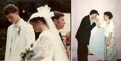 David, Chair, Department of Science and Mathematics, and Alisa Brackney met at RC and were married August 25, 1987. They are pictured on their wedding day and at Winter Banquet.