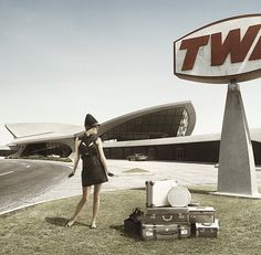 twa airlines classic ad flight attend, eero saarinen, airports, twa termin, jfk, flight center, airlin, twa flight, design