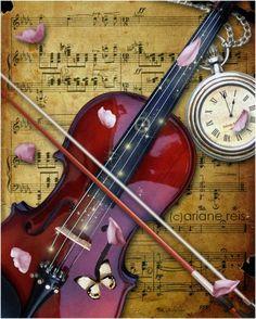 Musical still-life.