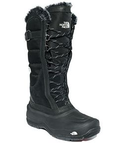 The North Face Women's Shellista Lace Faux-Fur Cold Weather Boots - Winter & Rain Boots - Shoes - Macy's