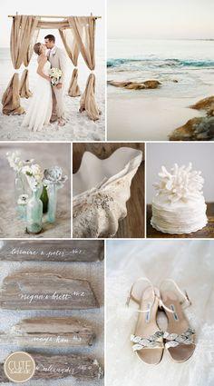 Coastal Wedding Inspiration by Cute Co.