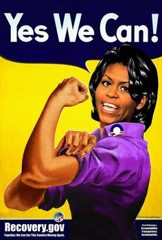 Yes We Can Recovery.Gov Michelle Obama