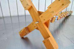 Make a Kids Building Block Coat Rack