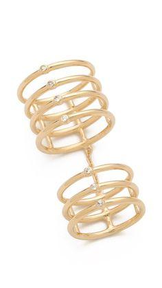 Elizabeth and James Berlin Multi Band Knuckle Ring