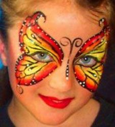 full face, idea, schminken, butterflies, face paintings, butterfli face, facepaint, qualiti stuff, halloween anytim