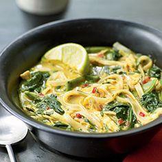 Coconut-Curry Chicken Soup | MyRecipes.com