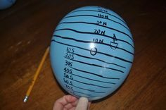 Understanding Latitude and Longitude--using a balloon