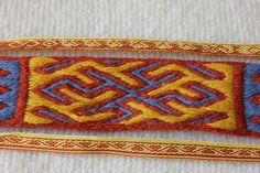 Chelles - all 3 bands tablet woven by Aisling