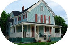 Ripples Inn, Rockland Maine. A favorite B&B when we visit Maine.
