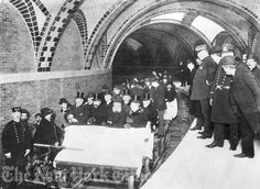 New York City, c.1904, The First New York City SUBWAY RIDE