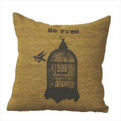 Be Free Pillow.