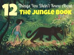 Did you know these 12 things about The Jungle Book?