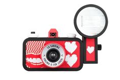 """Ready to dive into a romantic Lomographic experience? We've got the perfect camera for you! The La Sardina """"Virginia is for Lovers"""" camera and flash package will usher you into a world full of analogue love and wide-angle possibilities!  Get it on Lomography.com - http://shop.lomography.com/cameras/la-sardina-cameras/la-sardina-flash-virginia-is-for-lovers"""
