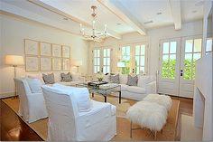 floor lamps, white slipcov, cote de, live room, de texa