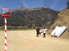 Ordinary Architecture stages Hollywood sign hoax in Los Angeles