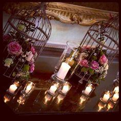 Gorgeous wedding flower idea!
