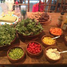 Salad bar!