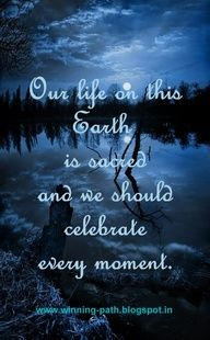 Celebrate each moment.