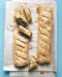 Spinach phyllo pie