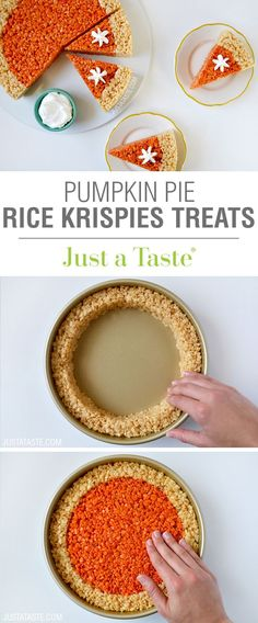 Pumpkin Pie Rice Kri