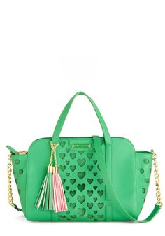 Bags & Accessories - Betsey Johnson Green with Love Bag