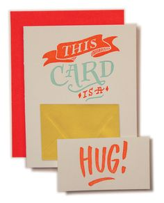 This Card is A Hug.