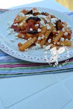 Pasta con melanzane e ricotta by ''le ricette di Tina''