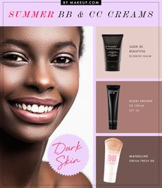 the best BB and CC creams for dark skin